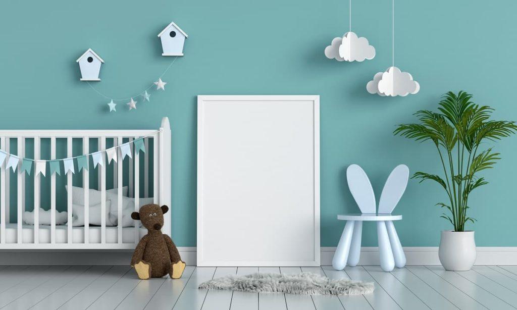 cuarto infantil con cuna